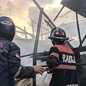 Kebakaran di Mandiangin Karang Intan, 15 Ribu Ayam Terpanggang