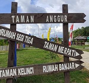 Destinasi Wisata Baru di Marabahan, Hanya Rp5.000 Bisa Nikmati Spot Menarik