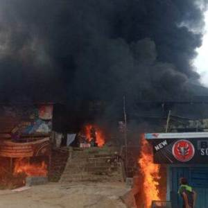 Api Berkobar di Hari Raya Idul Adha, Pasar Rakyat Lamandau Ludes