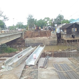 Pembangunan Jembatan Antasan Martapura Ditarget Selesai Bulan Oktober