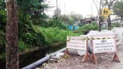 Pipanisasi PDAM Intan Banjar di Gambut