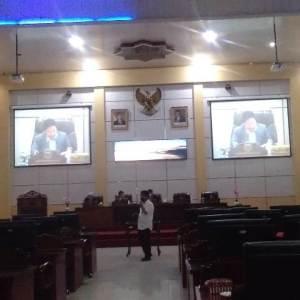 Wakil Bupati Banjar Tanggapi Fraksi Terhadap Raperda APBD 2020