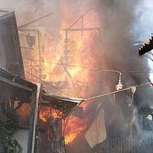Kebakaran Kalsel, 6 Rumah Terbakar di Kuin Cerucuk Banjarmasin, Saksikan Videonya
