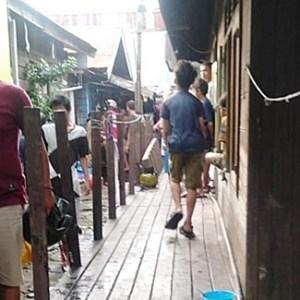 Kebakaran Kalsel, Tabung Gas Elpiji Bocor, Satu Rumah di Belda Banjarmasin Hangus