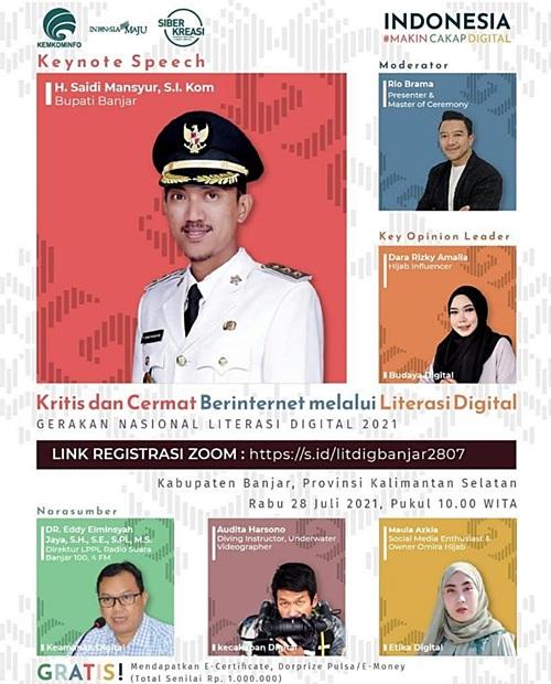 Literasi Digital Kabupaten Banjar.