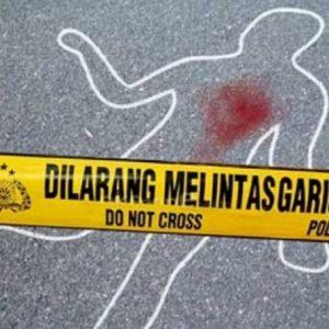 Mr X Naik Motor Satria Fu Tewas Dalam Kecelakaan Maut di Palangkaraya