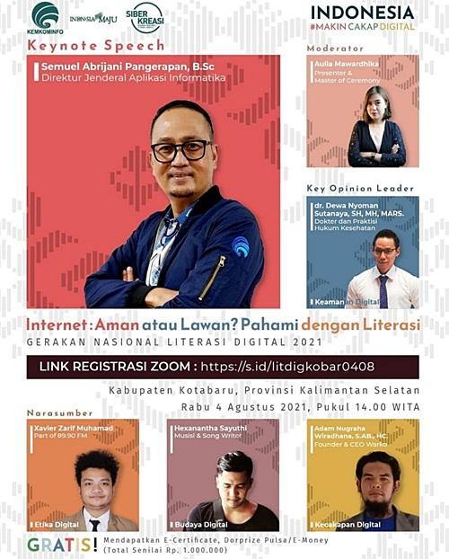 Webinar Kabupaten Kotabaru.