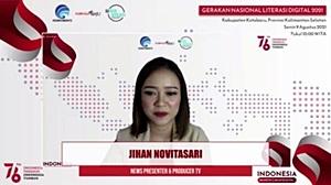 Webinar Literasi Digital Kotabaru.