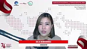 Webinar Literasi Digital Kabupaten Tabalong.