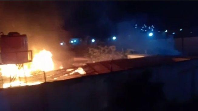 Lapas Tangerang Kebakaran (BPBD)