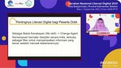 Webinar Literasi Digital Banjarmasin