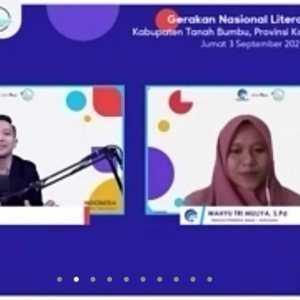 Webinar Literasi Digital Tanah Bumbu; Etika Dunia Digital: Pahami dengan Literasi yang Tepat