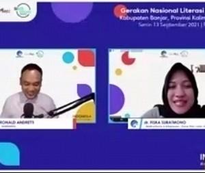 Webinar Literasi Digital Kabupaten Banjar; Pentingnya Pemahaman dan Pemanfaatan Digital, di Era Transformasi