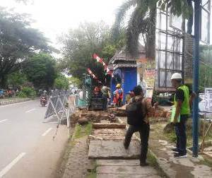 Pedestrian Depan Masjid Al Karomah dan Pasar Batuah Ditata Ulang