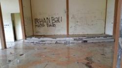 Keadaan gedung pemuda di Kota Barabai, Kabupaten HST. (foto: ramli)
