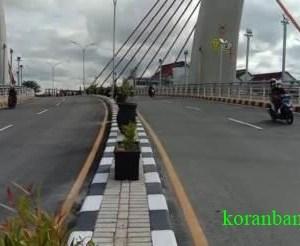 Meski Jembatan Alalak Baru Diujicoba, Tetapi Sudah Bisa Menghemat Waktu Perjalanan