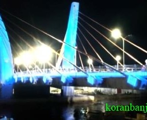 Truk Lintasi Jembatan Sungai Alalak di Waktu Tengah Malam, Kasatlantas; Anggota Saya Bukan Robot!