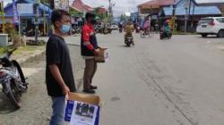 Aksi peduli di wilayah Kabupaten Batola, Kalsel.