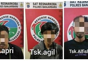 Tiga Pembeli Ganja Via Online Dicokok Polisi