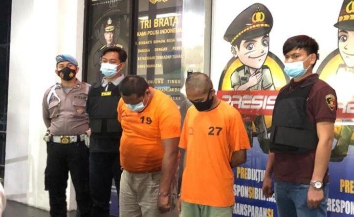 Polres Tangerang Amankan Dua Pelaku Pencurian Rumsong dan Minimarket