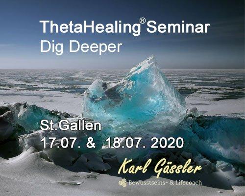 dig deeper theta healing