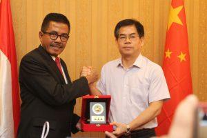 Kabandiklat Terima Kunjungan Kejaksaan Guangxi China