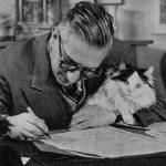 Escritores y gatos (un post de rebajas)