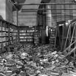 Bibliotecas abandonadas en la ciudad fantasma de Detroit