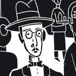 'Pessoa, gafas y pajarita', de Jesús Marchamalo
