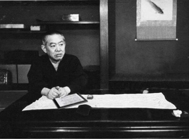 Junichiro-Tanizaki, autor de 'El elogio de la sombra'