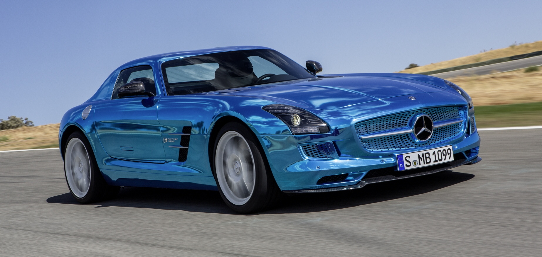 SLS AMG Electric Drive: Half Million Dollar Baby