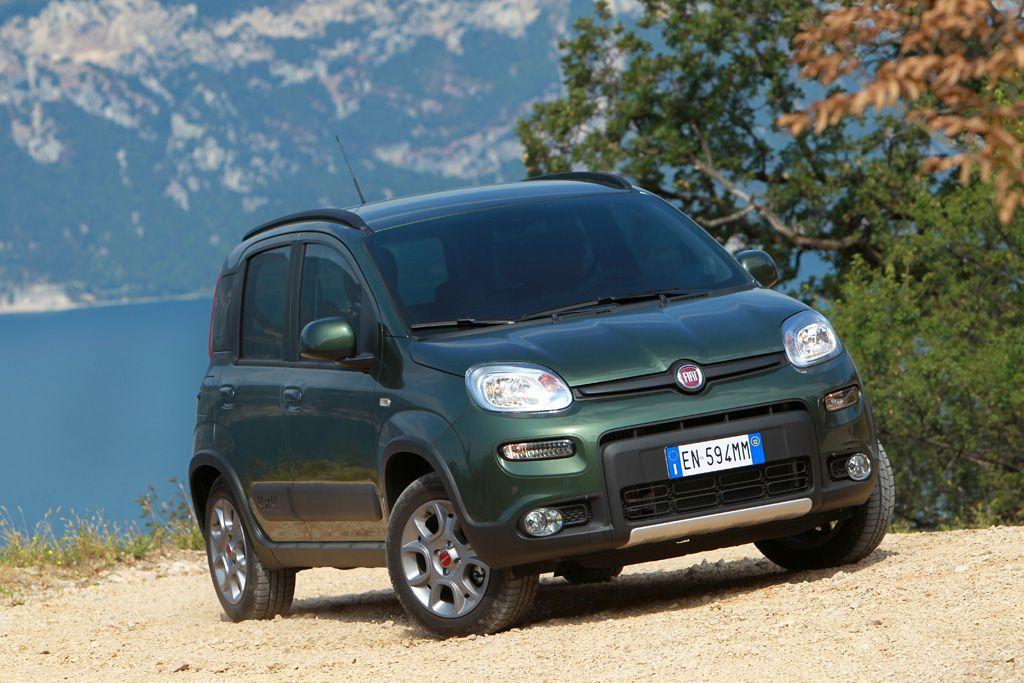 Kleiner Bergsteiger: Fiat Panda 4×4