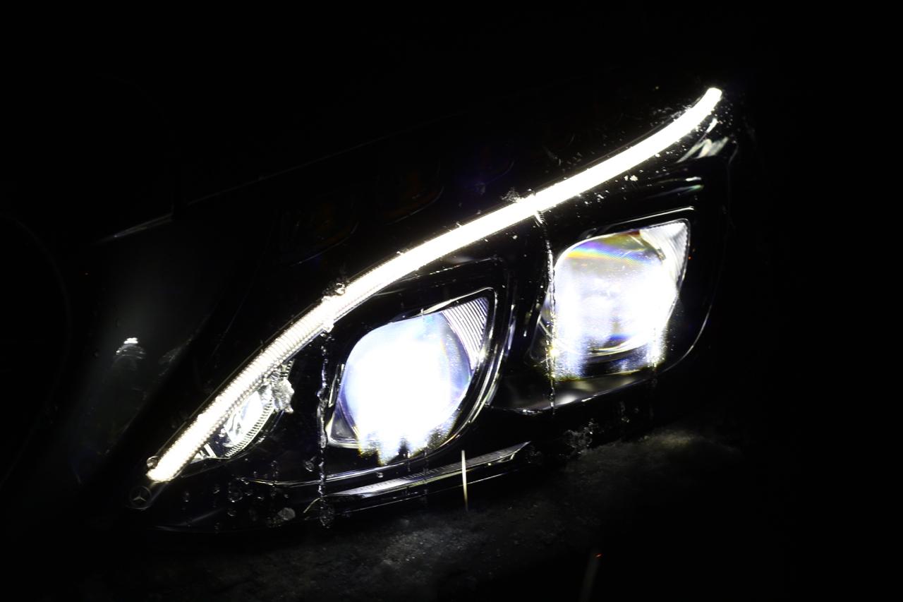 Lichttechnik im Auto