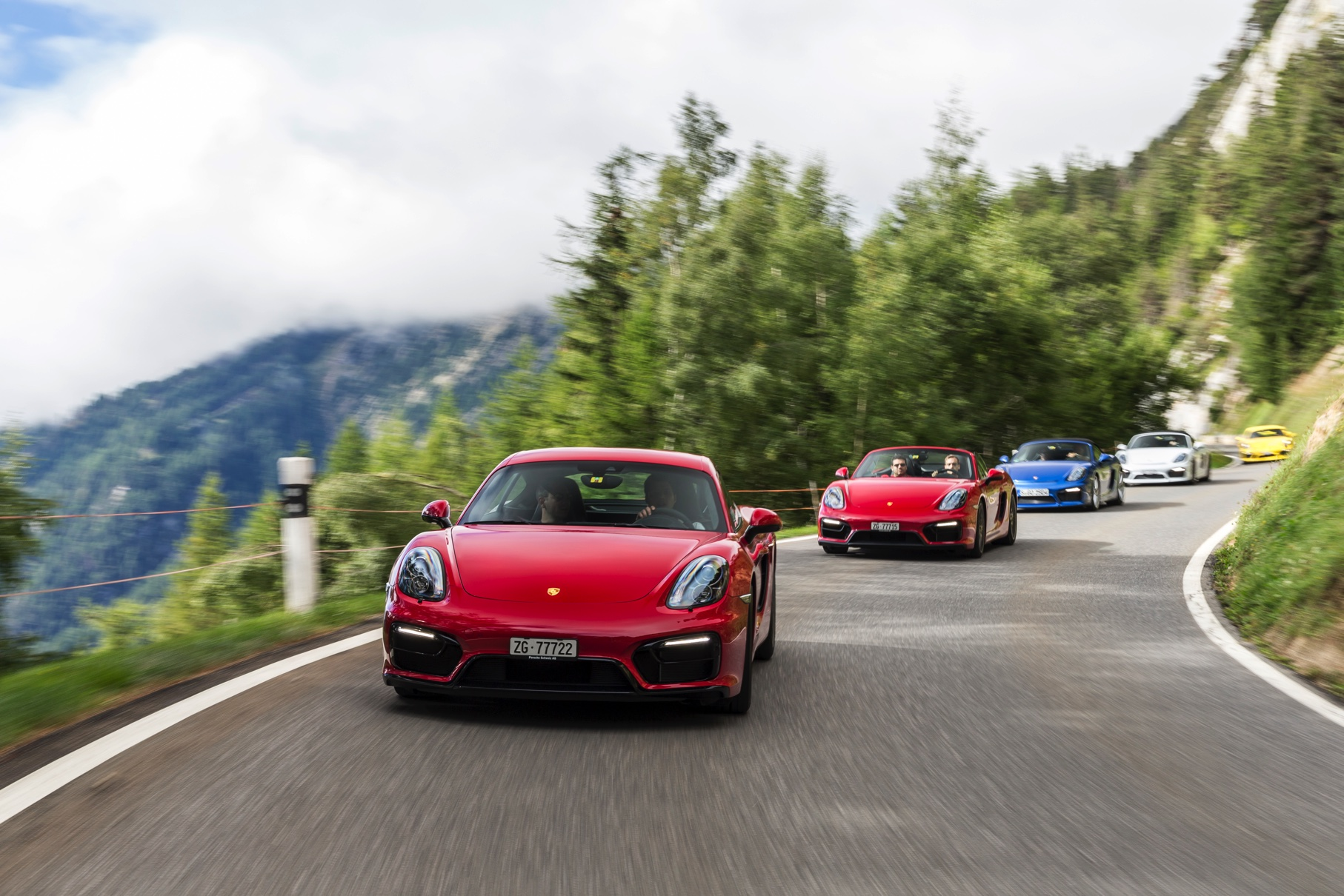 Kurven zum Frühstück – Porsche Midengine Power
