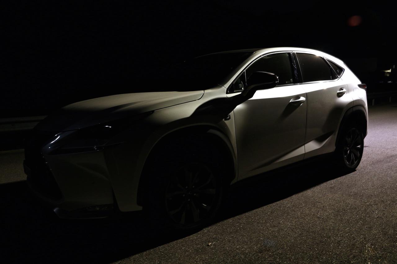 Lexus NX 200t F Sport: Wo Licht ist, ist auch Schatten