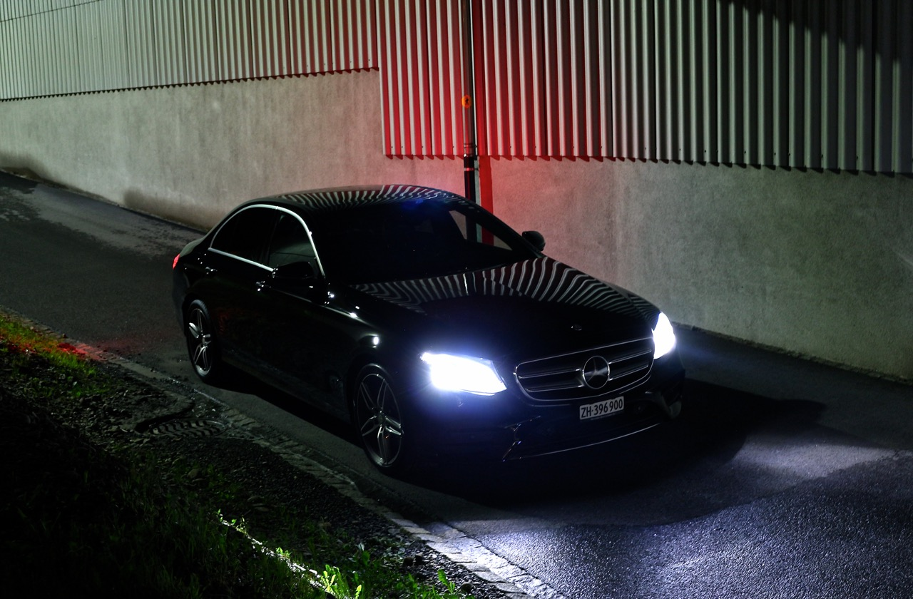 Rechenleistung: Mercedes E-Klasse