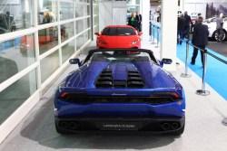 Lamborghini Huracan Spyder. Testwahrscheinlichkeit: Winzig