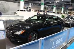 Maserati Quattroporte. Bereits getestet.