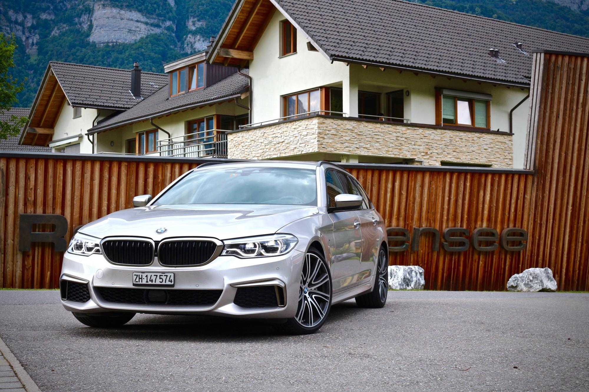 Schweigen und Geniessen: BMW M550d Touring