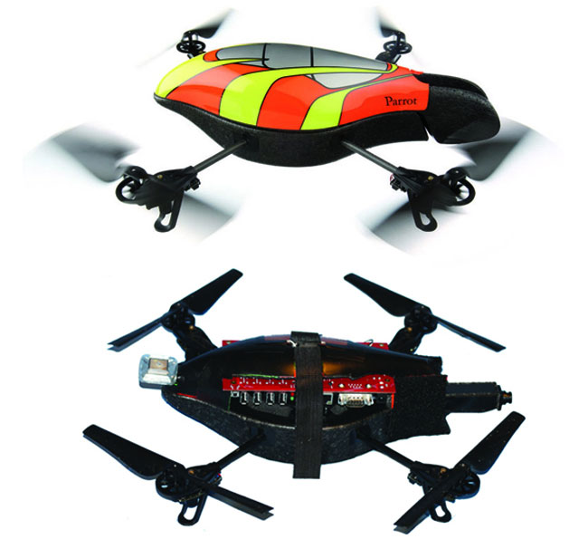 Network hacking AR DRone