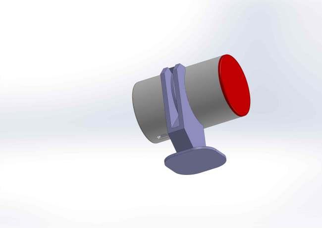 Boitier cylindrique Vue2