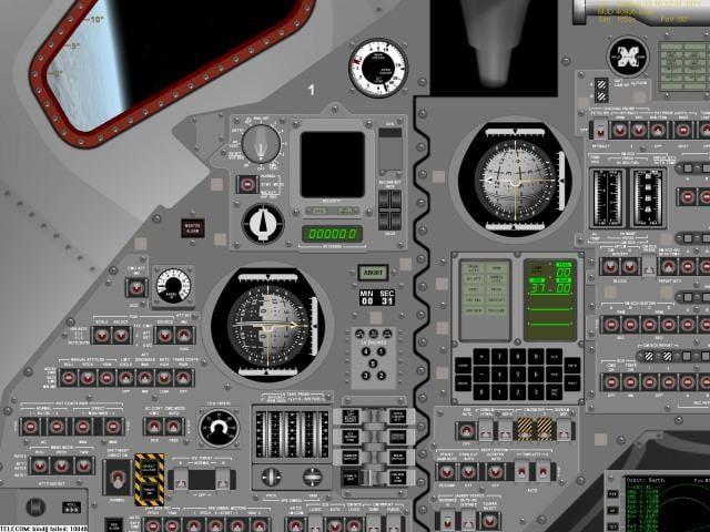 Orbiter poste de pilotage de fusee