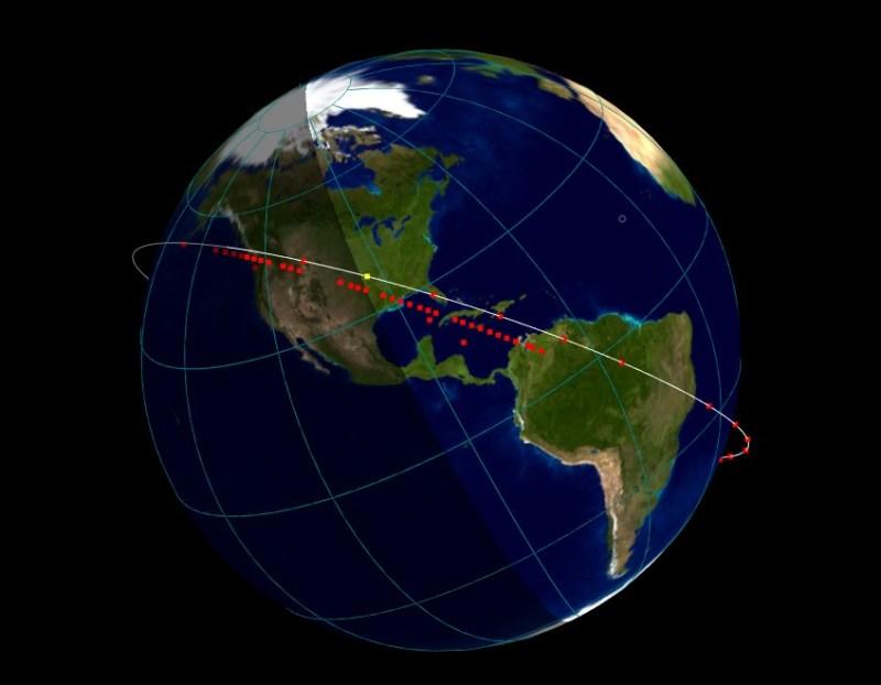 Heavens-Above pour visualiser les satellites