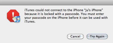 iphone1 Faille dans liPhone   Accéder aux fichiers chiffrés avec un simple Linux