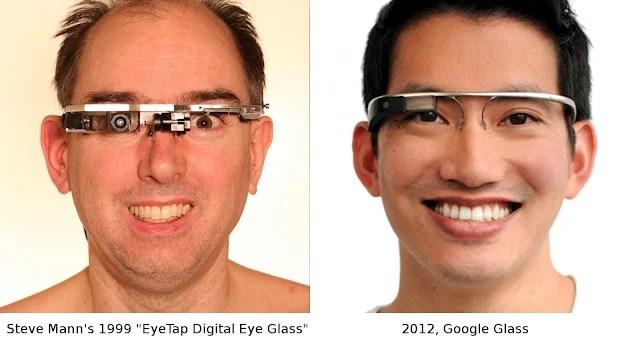 Mann EyeTap digital eye glass google glass Ça se passe comme ça chez Mc Donalds