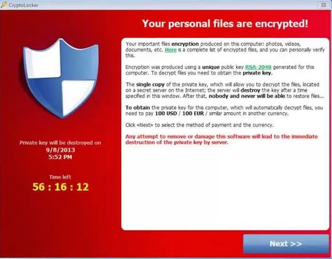dechiffrer cryptolocker CryptoLocker   Si vous avez été infecté, voici comment déchiffrer vos fichiers