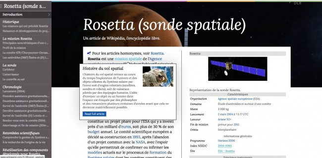 wikisand1 650x319 WikiWand   Pour rendre Wikipedia jolie