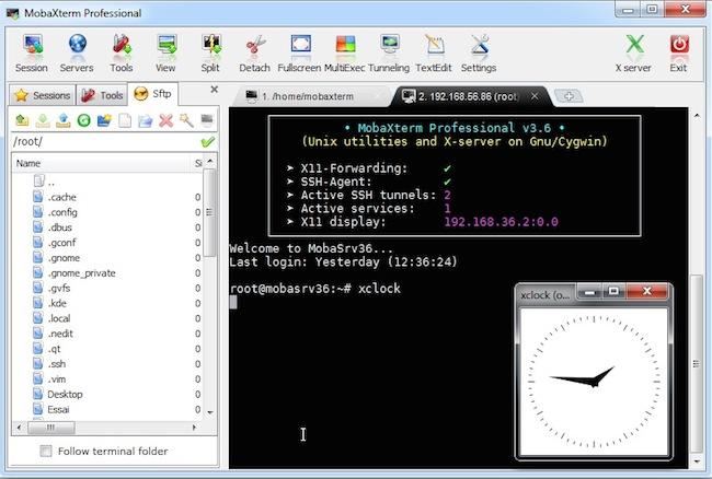 mobaxterm Un terminal pour gérer toutes vos connexions SSH avec export décran
