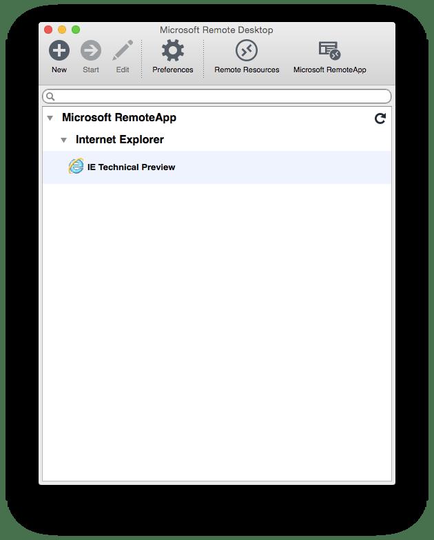 remoteie2 Comment tester la compatibilité de votre site sous Internet Explorer même si vous nêtes pas sous Windows ?