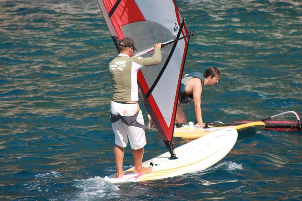 extreme windsurfing lessons grscica 2013 06 - Windsurfing School - Summer 2013
